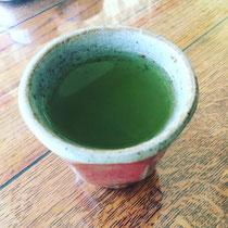お茶はやっぱり日本茶やね〜