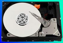 Bild für datenrettung (Offene Festplatte HDD)