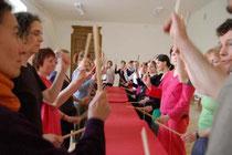 Fortbildung 2008 für den Österreichischen Berufsverband für Rhythmik, Musik-und Bewegungspädagogik