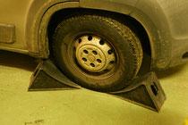 Sicherung des Fahrzeuges
