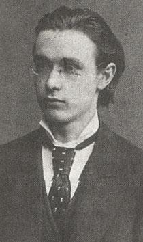 Rudolf Steiner als Student (wiki)