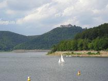 Edersee mit Burg Waldeck