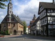 Rathaus der Kreisstadt Korbach