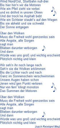 Kasimir, Cäsar und Fredi singen Reinhard Meys 'Über den Wolken'