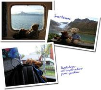Kasimir, Cäsar und Fredi unterwegs in Norwegen