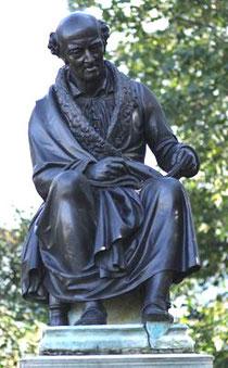 Hahnemann Statue in Leipzig