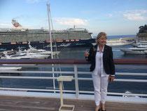 le port de Monaco vu du nouveau yacht Club de Monaco