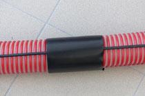Schrumpfschlauch f. Glasfiberstange