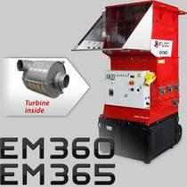 EM 360/365 mit Luftturbine Haberl Dämmtechnik