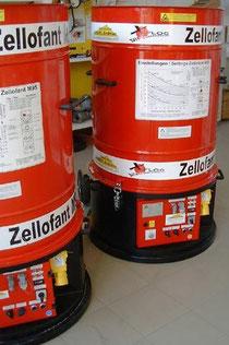 Zellofant 6,7 kW von Haberl Dämmtechnik