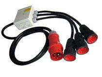 Netzadapter 400V auf 230V