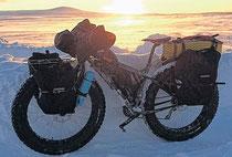 FATbike Norwegen Januar 2014