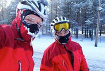 Gunnar und ich in Norwegen Januar 2014