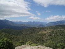 Vue sur la vallée de Prades