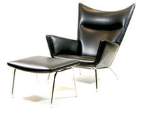 Hans J Wegner AP chair mod.45. Reupholstered and renovated by Studio Carina Grefmar