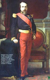 Napoléon III en 1860