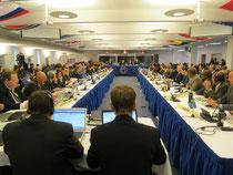 年次会合の開会式