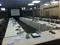 NAFOの年次会議場