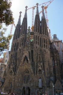 Vistas de la Sagrada Familia
