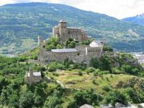 Castle from Sitten / Sion