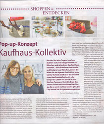 Kaufhaus Kollektiv in der TZ München