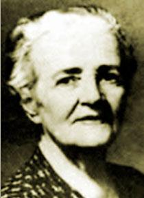 Käthe Duncker, geb. Döll (1871-1953). Die Dunckerstraße in  Prenzlauer Berg wurde nicht nach ihr, sondern nach Hermann D. benannt
