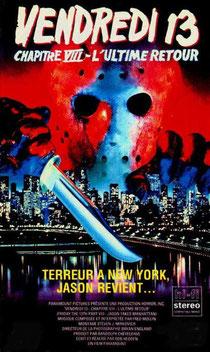 Vendredi 13 - Chapitre 18 : L'Ultime Retour de Rob Hedden - 1989 / Slasher - Horreur