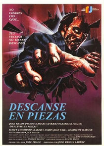 Repose En Paix de Jose Ramon Larraz - 1987 / Horreur