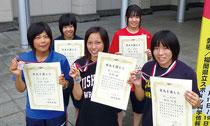 全国高校女子レスリング