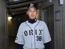 オリックス・小島脩平選手(38番)