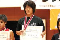 全日本女子オープンレスリング 小林奏音