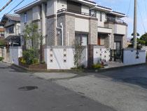 加古川市S様邸外構完成写真