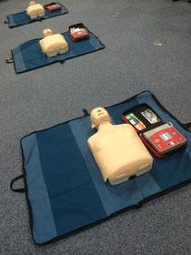永井歯科医院 AED講習会 風景