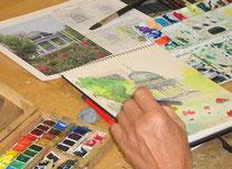 風景画コース写真