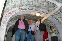 Visite du chateau de Moncel, propriété de la ville de Jarny. Sa cave abrite bien des surprises. Le chateau a accueilli l'état major de la 5ème armée allemande dès 1915.