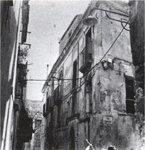 Crotone - Strada Sant'Angelo, odierna Via della Pescheria