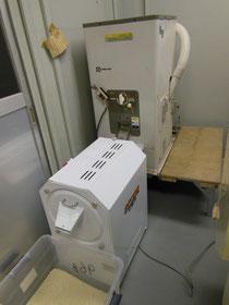 精米機と砕米抜き機 有機栽培の米作り