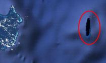 Sandy, l'île fantôme sur Google Earth