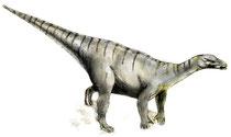 Bild eines Iguanodon