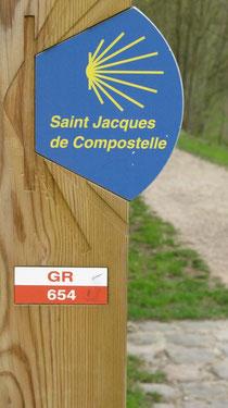 GR 654 Saint Jacques de Compostelle