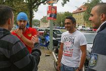 Sie wählen zum ersten Mal - zumindest in Deutschland