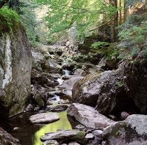 Steinklamm im Nationalpark Bayerischer Wald
