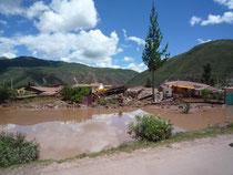 Des villages sous les eaux