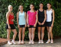 Mit einer blütenweißen Weste machten die Juniorinnen der U18-2 mit ihren Gegnerinnen kurzen Prozess.