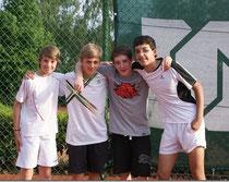 Vier Freunde sollt ihr sein - die Junioren U15