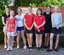Die jungen Damen der Juniorinnen U15-3 hatten mit einem 14:0 gegen ihre Gegnerinnen gut lachen.