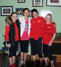 Nach starker Leistung den Sieg eingefahren, haben die Juniorinnen U15-1.