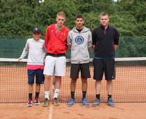 Die Junioren U18-1 konnten sich knapp aber verdient durchsetzen.