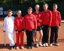 Die Bambini des TC Rot-Weiss Dillingen konnten den Meister aus Bous in dieser Runde nicht ärgern.