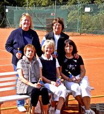 Die Damen 60 am Ende ihrer Meisterschaftsrunde konnten mit einem guten fünften Platz zufrieden sein.